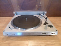 Sony Direct Drive Turntable - Working