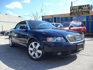 2003 AUDI A4 CONVERTIBLE NOW ONLY $6979 416-742-5464
