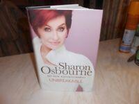 SHARON OSBOURNE 'MY NEW AUTOBIOGRAPHY' UNBREAKABLE