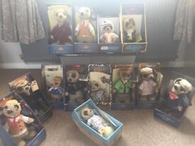 Set of 14 compare the market meerkats