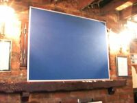 TWO NOTICE BOARDS IN NEW CONDITION. LARGE & MEDIUM SIZES. CALL, TEXT ME FOR DIMENSIONS. £39 FOR 2.