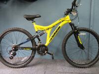 Dual suspension MTB for sale