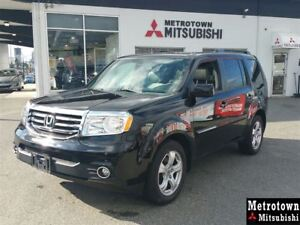 2014 Honda Pilot EX-L 4WD; Local! LOW KM! Leather! Bluetooth!