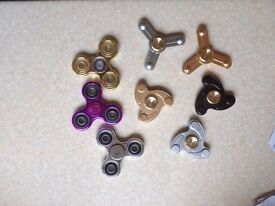 selection of fidget spinners for sale