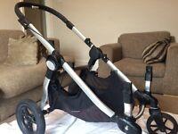 Baby jogger city select double pram plus accessories