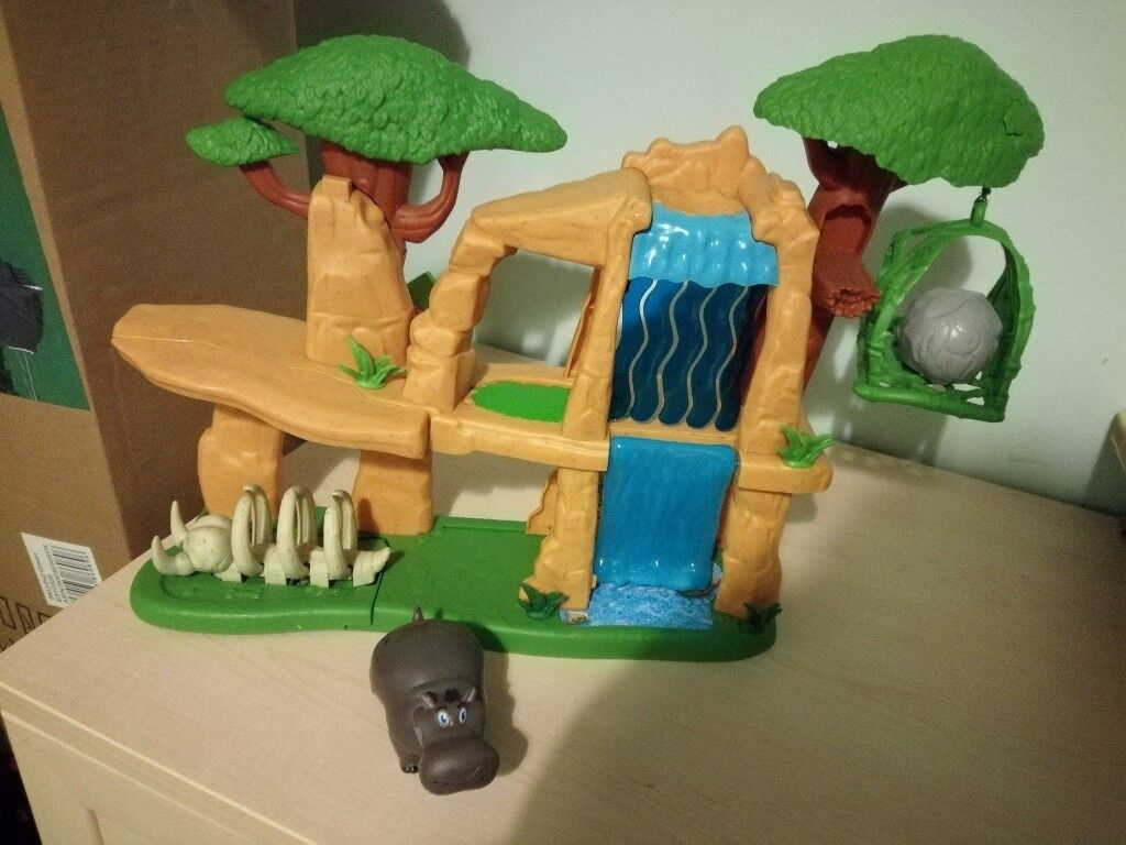 Lion guard play set with hippo