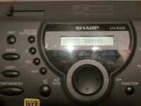 A NICE CLASSIC SHARP UX-P410 FAX MACHINE , GOOD , GOOD WORKING ORDER