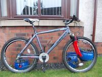 Viking Targa hard-tail mountain bike ,serviced-stunning condition with upgraded shocks