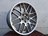 "19"" Genuine BMW e46 m3 CSL front alloy wheel 8.5J Part N: 2282650"