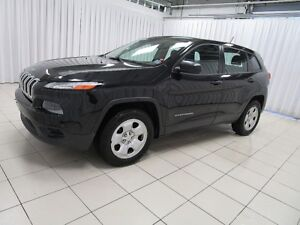 2015 Jeep Cherokee SPORT 4X4 SUV WITH FACTORY REMOTE START AND K