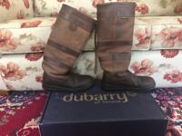 Dubarry Boots size 4