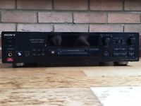 Sony MDS-JB930 Minidisc Deck, (Record and play), Black, UK, RRP £219.95