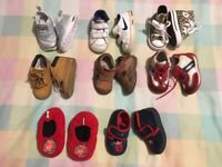 HOUSE CLEARANCE baby shoes size from uk 3 to uk 5---------smoke free home