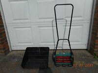 Lightweight lawn mower in very good condition