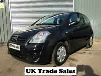 2010 CITRIOEN C2 1.1 3dr HATCHBACK **FULL YEARS MOT** similar to polo alto 107 clio corsa punto jazz