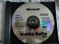Microsoft Works Suite [6 products one dvd]