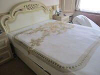 King size Italian designer bed