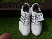 BRAND NEW WITH TAGS Adidas junior REDUCED golf shoes