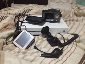 X-box 1 three GPS and one dashcams ONLY £100
