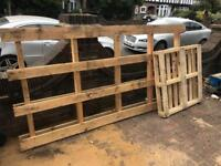 Wooden pallets free for collection