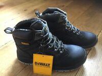 DeWalt New steel toe capped waterproof boots size 7