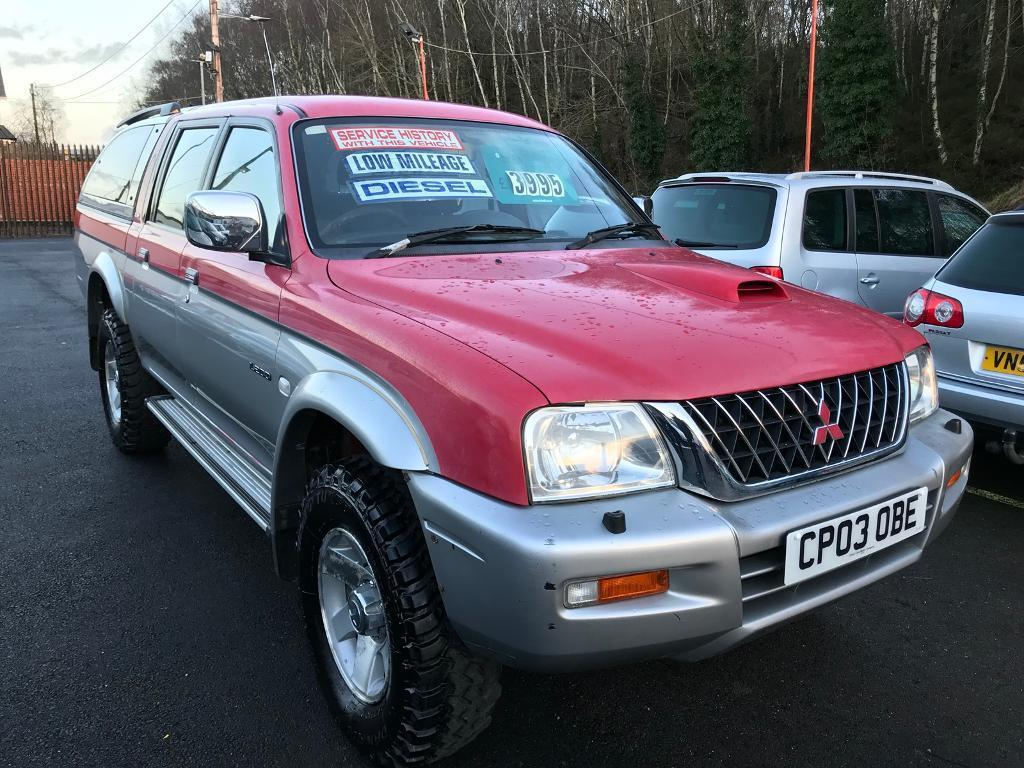 ***MITSUBISHI L200 2003 ONLY 60,000 MILES FSH 2003*** | in Clydach, Swansea  | Gumtree