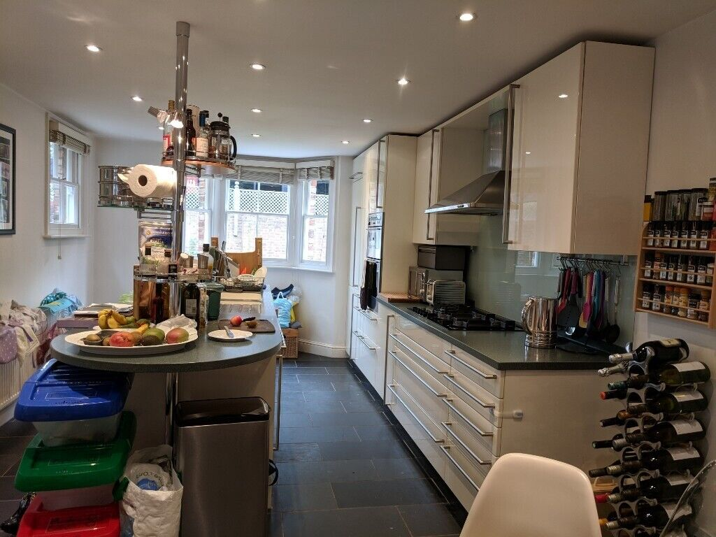 Poggenpohl kitchen w/ Neff double oven and integrated Miele fridge/freezer,  hob and dishwasher   in St Albans, Hertfordshire   Gumtree