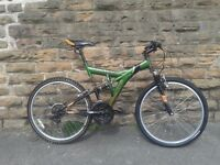 Apollo OUTRAGE Full Suspension Large Adults Mountain Bike