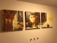 Scarface Canvas & Prints