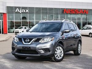 2015 Nissan Rogue S FWD CVT Bluetooth*Accident Free*Steering Whe