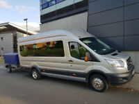 EXECUTIVE MINIBUS HIRE WITH DRIVER (8/16 SEAT) ALL DESTINATIONS