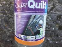 New roll of Super Quilt insulation