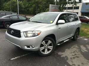 2008 Toyota Highlander V6 Sport, Leather, Sunroof