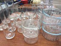 Mixed box of glassware