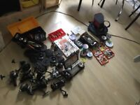 Fishing gear, LG job lot for course and fly