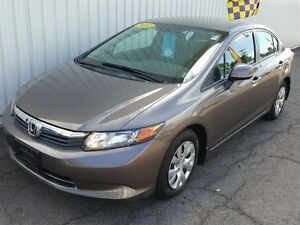 2012 Honda Civic LX AC | POWER OPTIONS | GREAT FUEL ECONOMY | BL