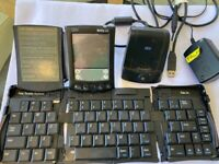 Palm workpad C505 with portable keyboard and chargers- rare collectible