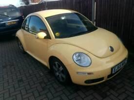 ** VW beetle Luna 1.4 2006 110k miles MOT **