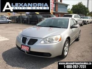 2007 Pontiac G6 SE v6 safety included