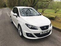 SEAT IBIZA 2.0 TDI FR Hatchback 5dr Diesel Manual (123 g/km, 138 bhp) (white) 2011