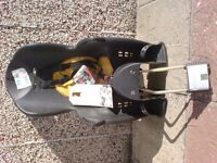 Child cycle seat.Hamex KISS. new.unused.suit 9mths to 6yrs.incl. manufacturers labels & booklet.£25