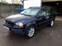 IMMACULATE 2005 Volvo XC90 D5 SE auto DIESEL 4x4 7seat 2 owners from new history 12 mths mot 2 keys!