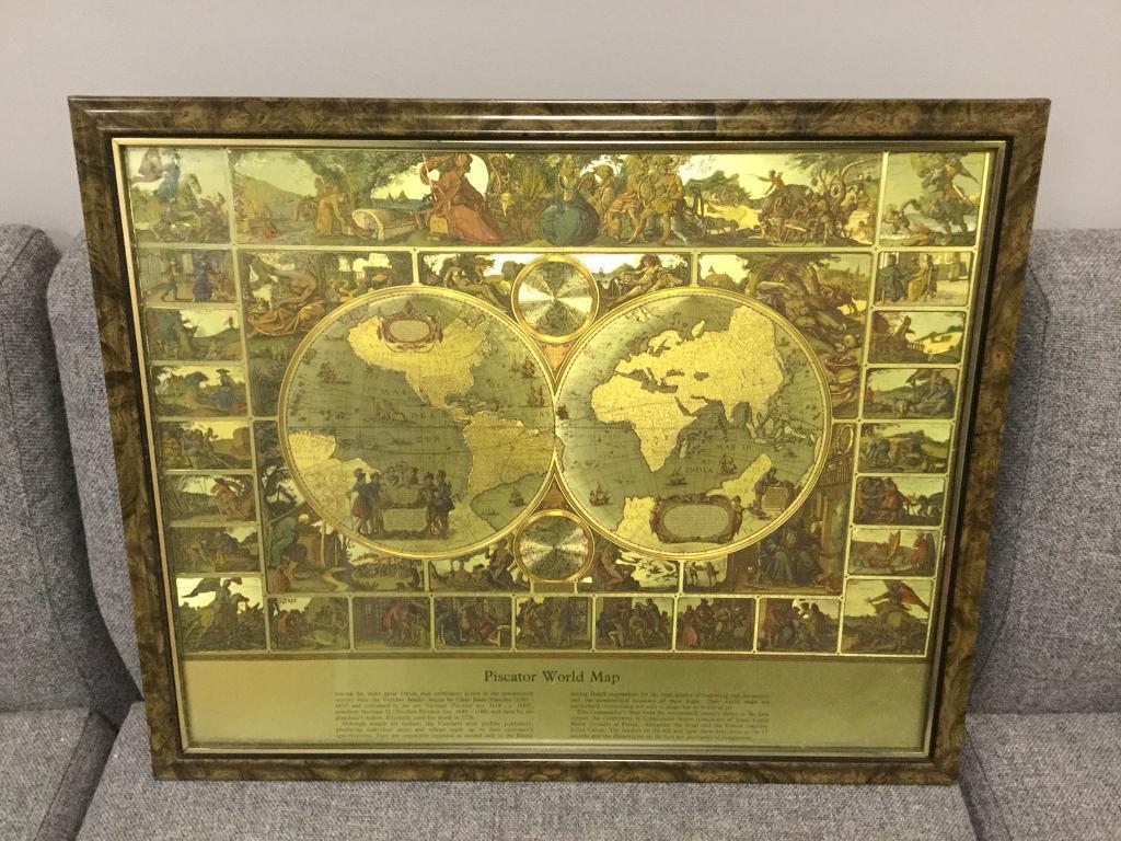 Rare retro vintage gold coloured world antique map atlas globe rare retro vintage gold coloured world antique map atlas globe geography interest sdhc gumiabroncs Images