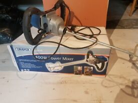 1400 watt paddle.mixer. only used several times so in very good condition