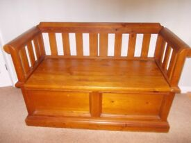 Pine Monks chest very good condition
