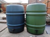 Garden water barrel set off 2