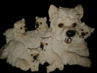 Lovely westie dog ornament
