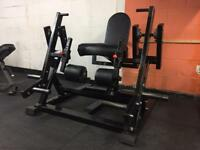 Commercial Plate Loaded Leg Extension Machine (free Weights)