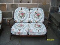 Ercol 2 Seater Settee & Chair