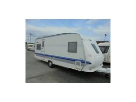2005 Hobby 560 ufe prestige lightweight Fendt Tabbert lmc Fixed bedroom Can Deliver
